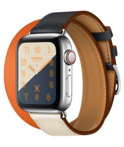 Apple Watch Hermes 40mm GPS + Cellular with Leather Double Tour (series 4)