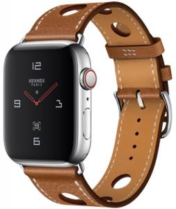 Apple Watch Hermes 44mm GPS + Cellular with Leather Single Tour Rallye (series 4)