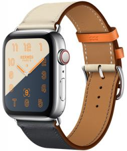 Apple Watch Hermes 44mm GPS + Cellular with Leather Single Tour (series 4)