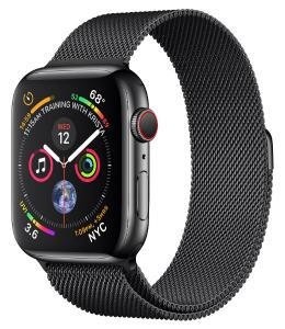 Apple Watch Stainless Steel 44mm GPS + Cellular with Milanese Loop (series 4)